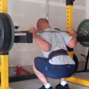 Bottom of Back Squat