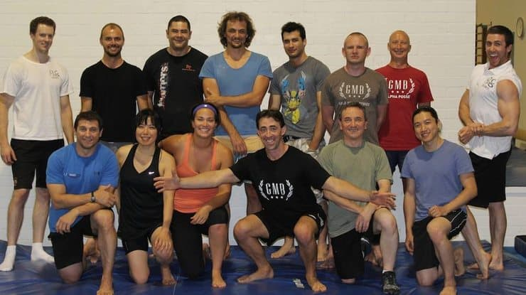 group photo from GMB Australian seminar