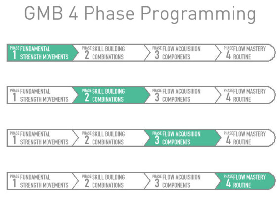 4 phases of GMB programming