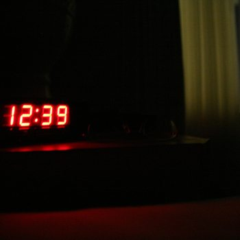 Even the small amount of light from an LED alarm clock can negatively impact your sleep.