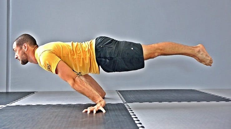 Learn the Planche to build incredible straight arm strength