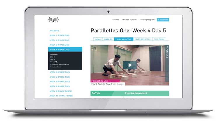 A look inside Parallettes One