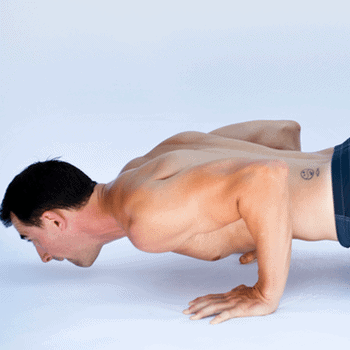 push up elbow position training progress