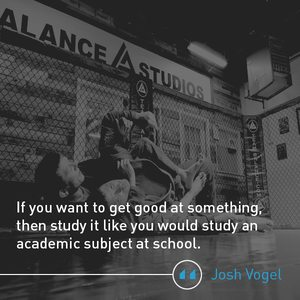 Josh Vogel Quote