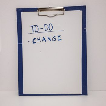Change written on clipboard