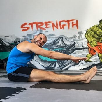Forward fold stretch without results