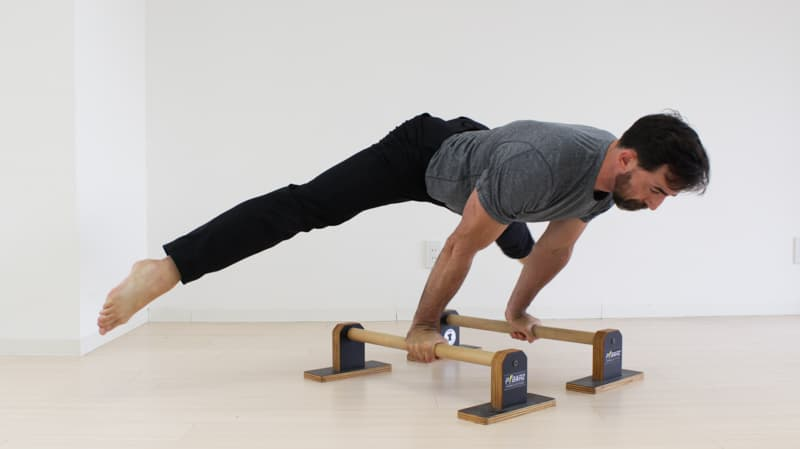 free parallettes workout routine and training program gmb fitness rh gmb io a parallette training guide by american gymnast Parallette Training for Core
