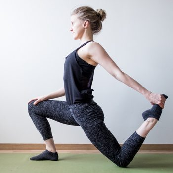 Lunge Stretch for increased Mobility