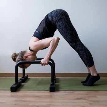 inverted press on parallettes
