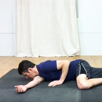 L-arm Stretch to Help You Loosen Tight Shoulders