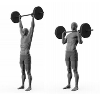 push press progression illustration
