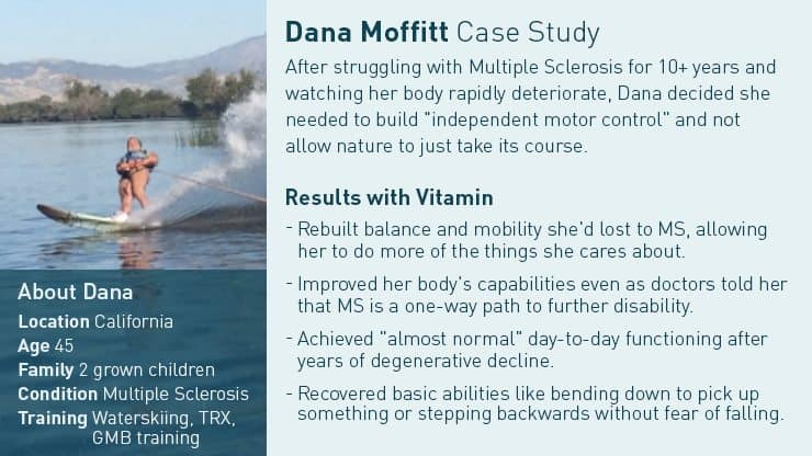 Dana M. Multiple Sclerosis training story