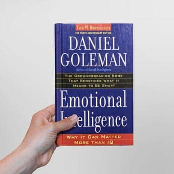 emotional intelligence book cover