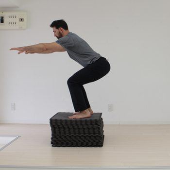 Bodyweight Leg Exercises Box Jump