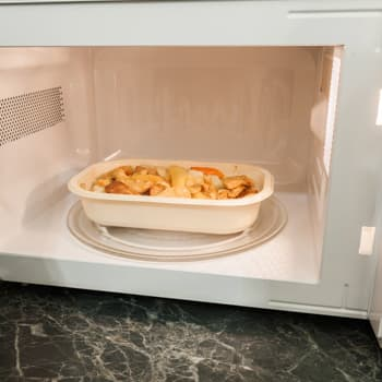 making food microwave
