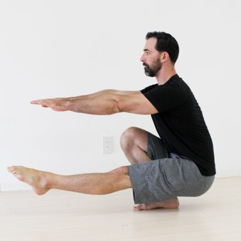 Pistol Squat Bottom Position