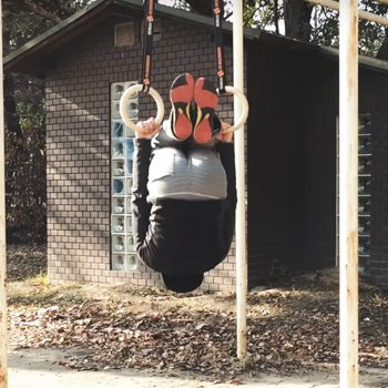 german hang upside down technique