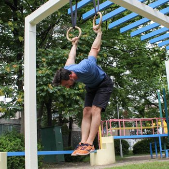 german hang fitness playground technique