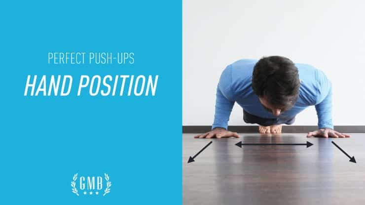 Push-up hand position