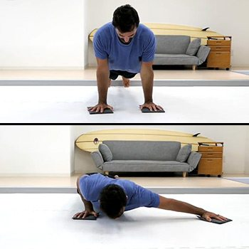 Archer Push-Up Variation 2