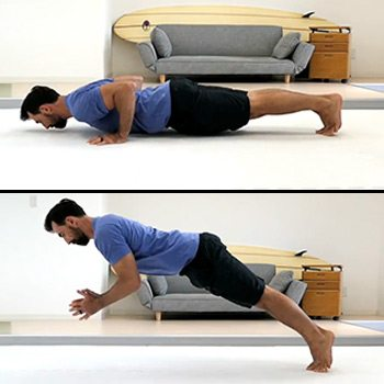 Clapping push-up
