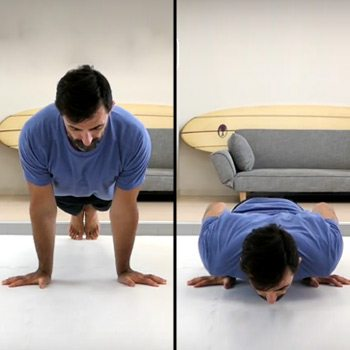 Fingers out push-up