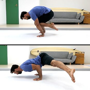 Float to float push-up