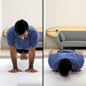 Narrow push-up