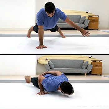 Single Arm Push-Up