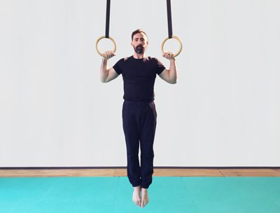 perfecting the pull up on gymnastics rings
