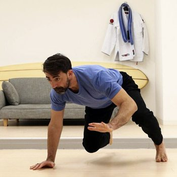 ryan crawling exercise for overcoming clumsiness