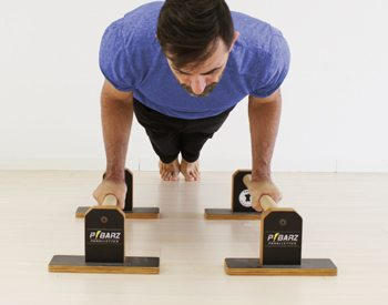 Push Up on Parallettes