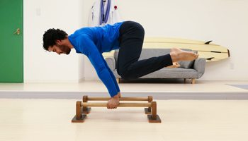 Bodyweight Planche Progression on Parallettes