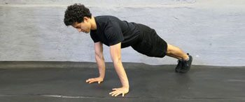 basic push-up tutorial