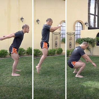 jump landing with control for knee health
