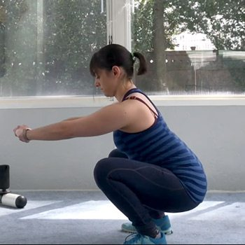 Squat exercise for running