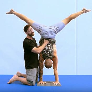 hand balancing placement