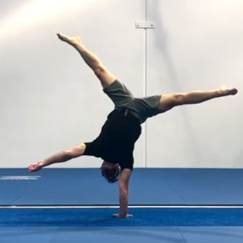 one arm handstand progression