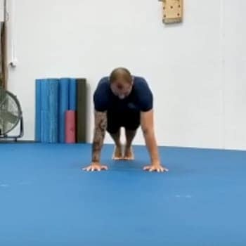performing a proper form push-up technique