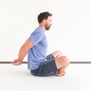clasped hand shoulder extension stretch