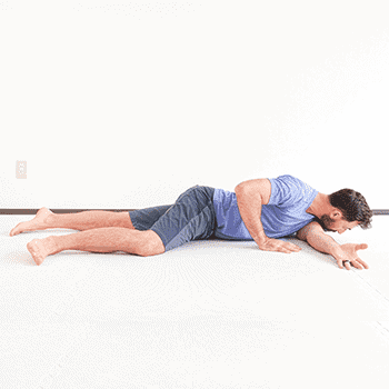 l-arm shoulder stretch with arm across chest