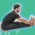 forward fold hamstring stretch