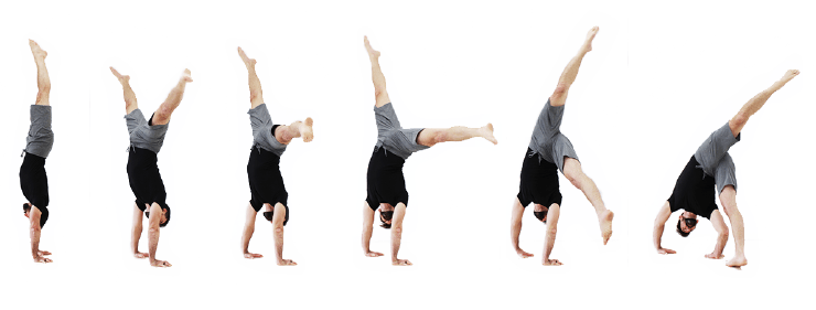 GMB handstand - handstand bail progression