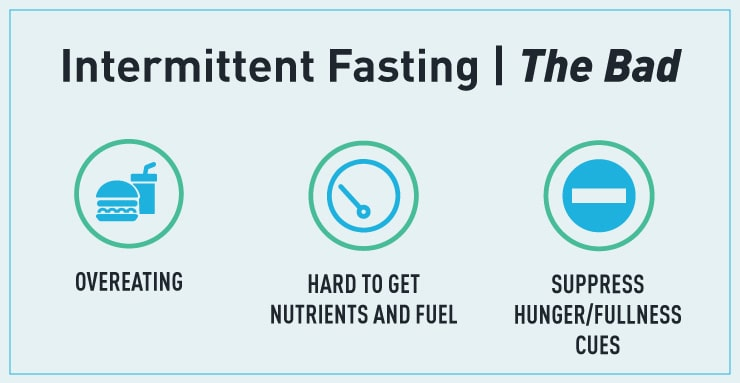 the bad that can come from intermittent fasting