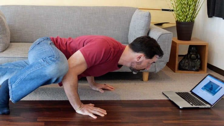 home workout with only training program