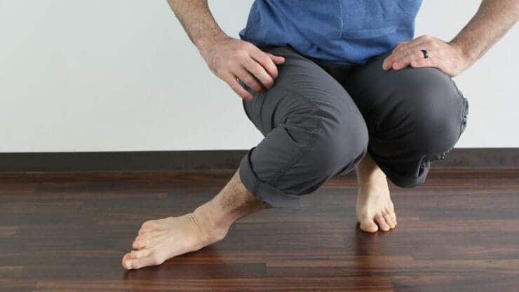 compromised knee position