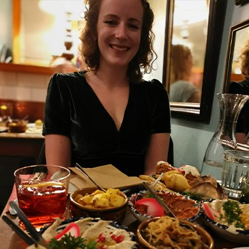 Beth out for dinner
